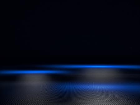 dark backgrounds: 3d image of geometric metal plate