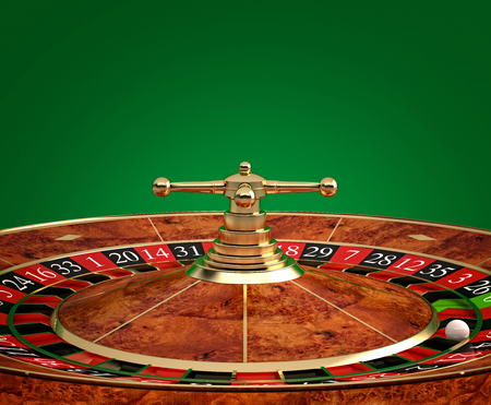win money: classic casino roulette 3d rendering