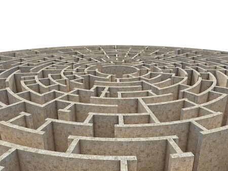 problems solutions: 3d rendering of circular maze