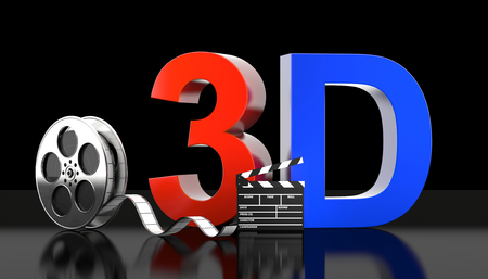 cinema 3d concept 3d rendering image