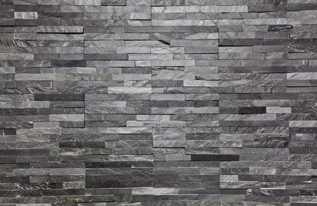 real slate brick interior wall background