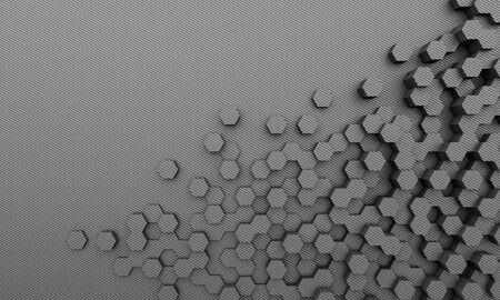 탄소 섬유 형상 배경 3d 렌더링 이미지 스톡 콘텐츠