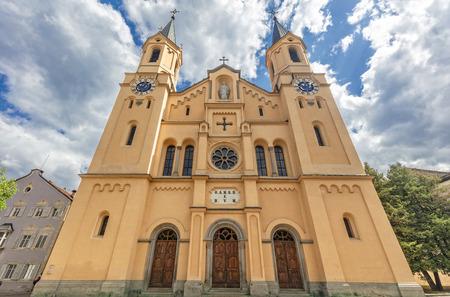 Parish church of Santa Maria Assunta brunico italy