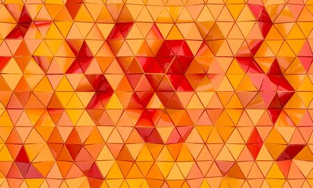 3d image render of a geometric background with triangular shapes.