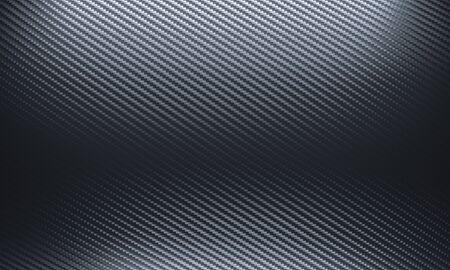 fond de fibre de carbone dans les tons noirs. rendu 3D. personne autour. format horizontal.