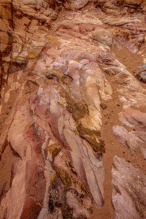 detail of natural sandstone background