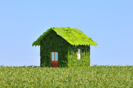 concept of an ecological house Stock Photo - 8605007