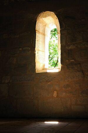 A small window of church.