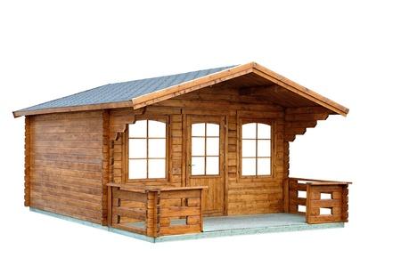 Eine kleine Hütte Garten