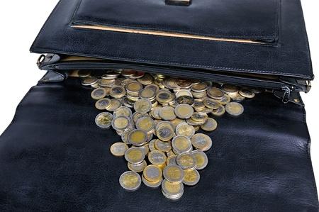 put away: put those savings away Stock Photo
