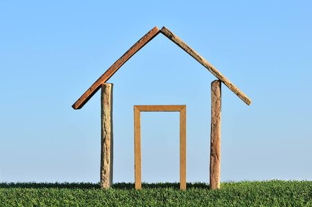 roof framing: dream of building a house