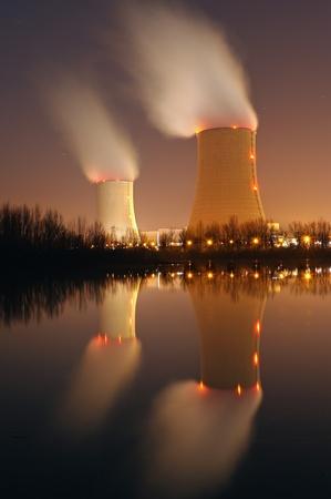 centrale nucléaire dans le sud de France Banque d'images