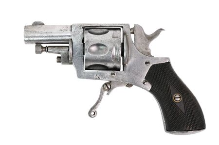 an old gun from the early century photo