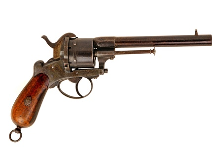 colt: old western style arm in operation
