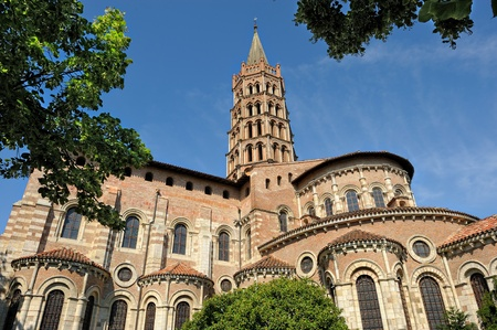 basilica Saint-Sernin of Toulouse in French