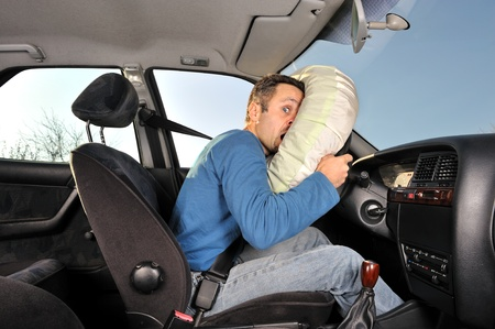 airbag: protection system for car drivers accident