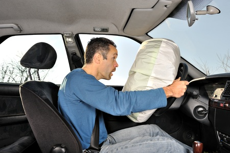 protection system for car drivers accident Stock Photo - 13116433