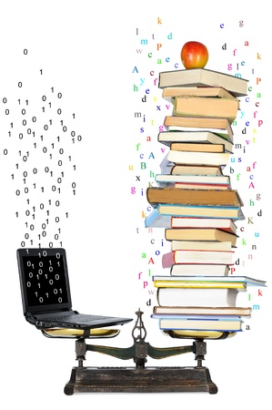 equivalence between the computer and writing