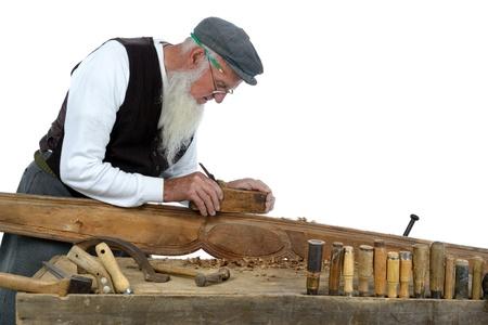 joinery: la lavorazione del legno piccolo da un falegname nella sua bottega