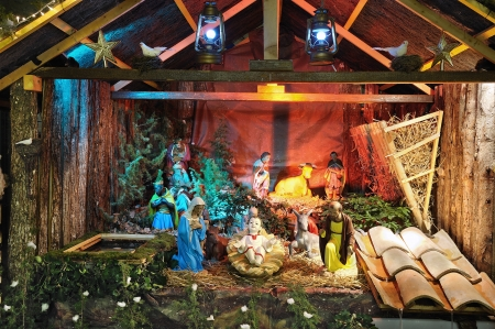 guardería: che para Navidad y Año Nuevo Foto de archivo