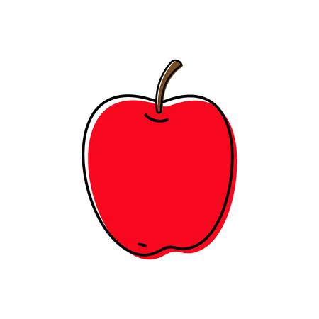 Apple icon vector illustration