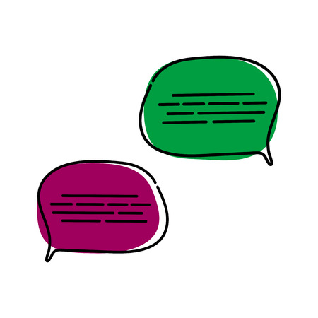 Chat message set icon