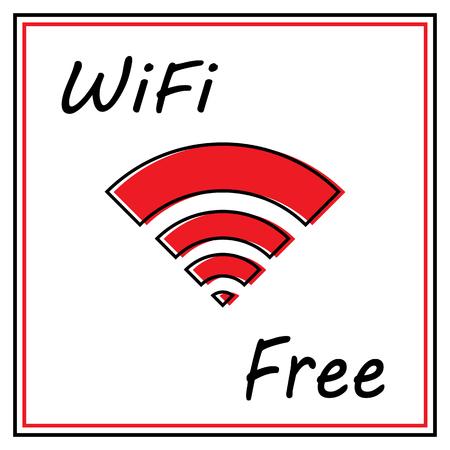 Wi Fi icon Ilustração
