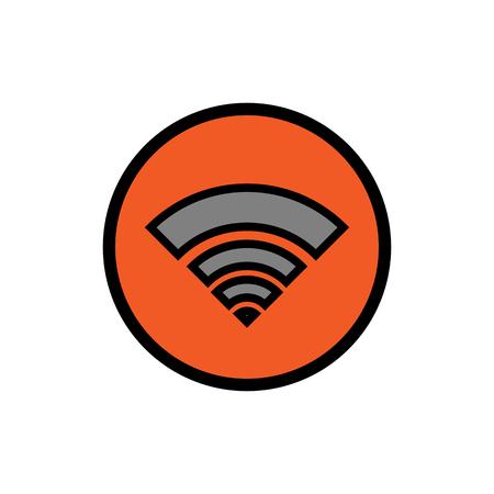 Wi Fi icon Stock Photo
