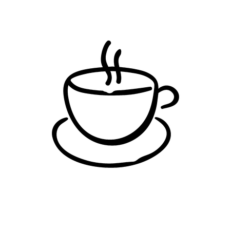 Cup icon vector illustration on white background. Eps10