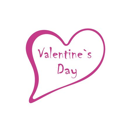 Valentines day speech bubble chat icon illustration 写真素材 - 136746779