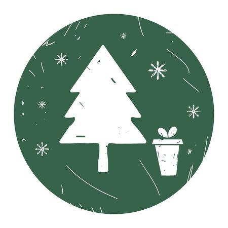 winter icon. Vector illustration Ep10