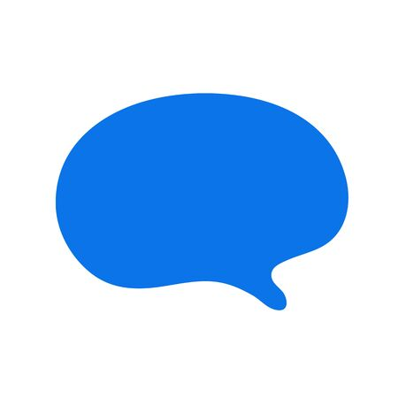 chat icon vector illustration dialog text on white background