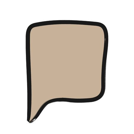 WebChat icon. Dialog text on white background Иллюстрация