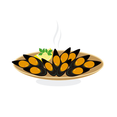 mussels: steamed mussels
