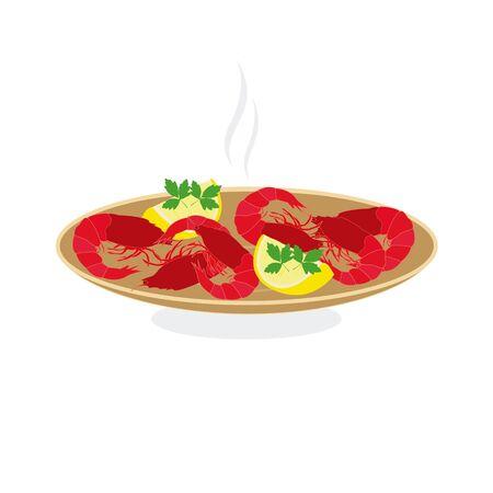 prawns: grilled prawns