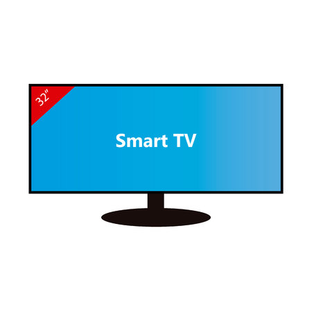 Smart TV-32 pollici Vettoriali