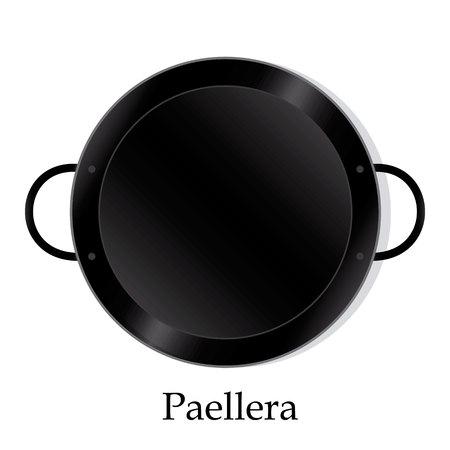Paellera empty