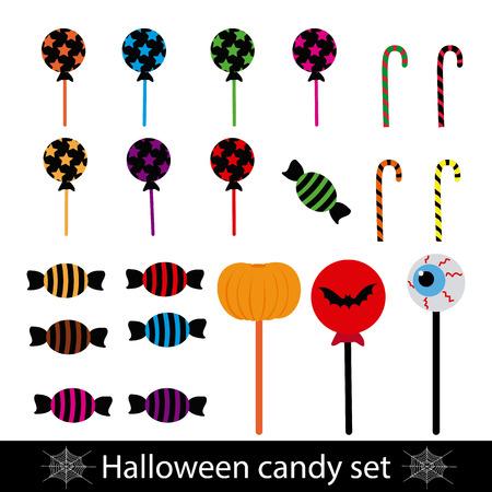 Halloween sweets icon.