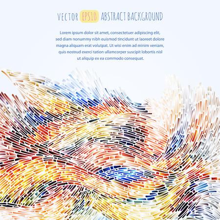 Abstracte achtergrond. De illustratie bevat transparantie en effecten. EPS10