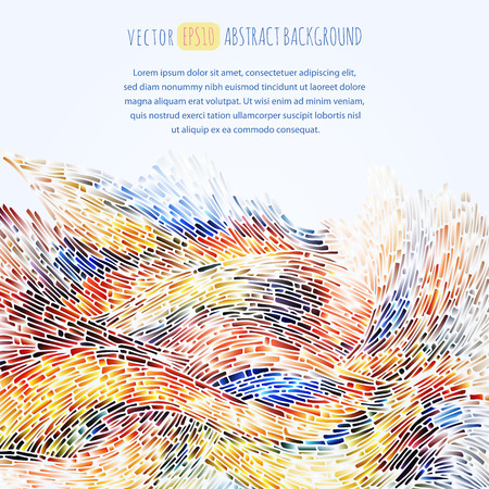 Abstract background.The illustration contains transparency and effects. EPS10