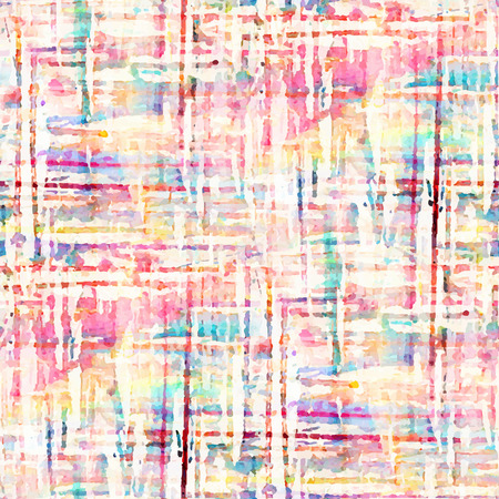 Abstract seamless pattern with watercolor spots. Vector illustration