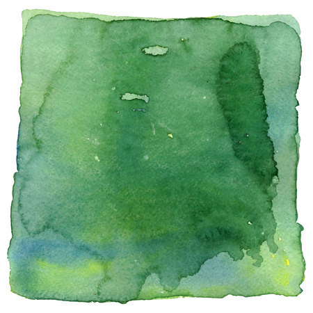 isolated spot: Watercolor spot isolated on a white background. Vector illustration