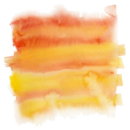 splotches: watercolor spot, isolated on a white background. Vector illustration. Illustration