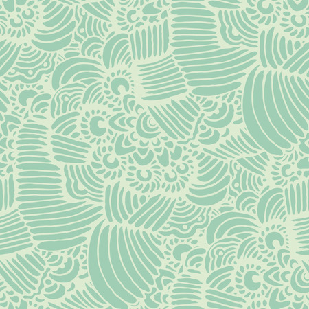 waves pattern: Abstract seamless background  in doodle style.  Seamless abstract hand drawn waves pattern.  Vector illustration Illustration
