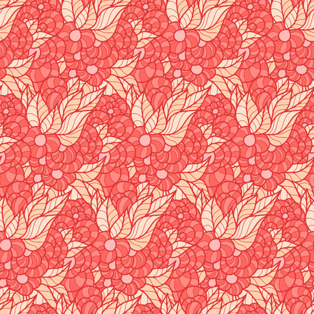 simple flower: Seamless pattern - simple flower background