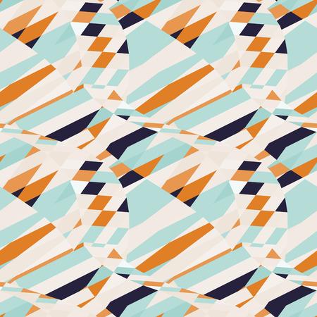 seamless geometric: Sfondo geometrico senza soluzione di continuit�. Illustrazione vettoriale. Vettoriali