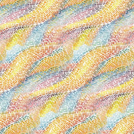 Abstract naadloos patroon. Vector illustratie.