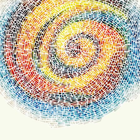 espiral: Resumen de la ilustraci�n background.The contiene transparencia y efectos.