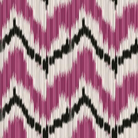 Modelo inconsútil de Ikat. Resumen de antecedentes para el diseño textil, papel pintado, texturas de la superficie, patrones de relleno, papel de embalaje.