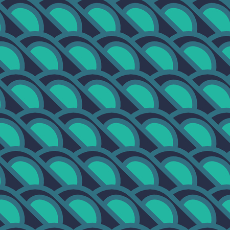 sixtieth: Simple geometrical background  with circles in a retro style. Simple geometrical forms in style of the sixtieth. Vector illustration.